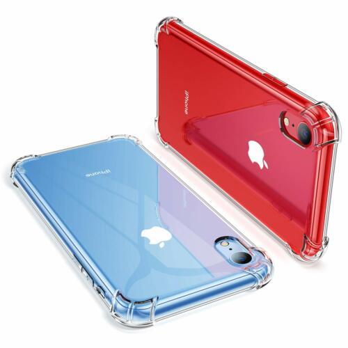 COQUE POUR IPHONE 6-5S 7 8 XS MAX XR X PROTECTION RENFORCÉE SOUPLE CASE BUMPER