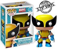 Wolverine Funko Pop 05 Vinyl Figure Marvel Comics Brand In Stock on sale