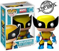Wolverine Funko Pop 05 Vinyl Figure Marvel Comics Brand In Stock on sale