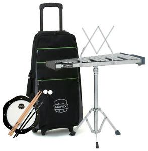 Mapex-MXMPK-32-PC-Glockenspiel-Tasche-Practice-Pad-amp-Zubehoer