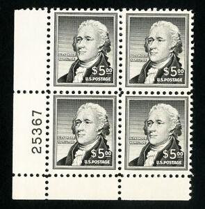 USA-TIMBRES-N-1053-tres-fine-PB-de-4-ORIGINAL-GUM-jamais-a-charniere