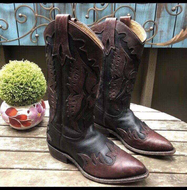 Frye Billy Billy Billy Firebird Leather Cowboy Western Boots b82cf2