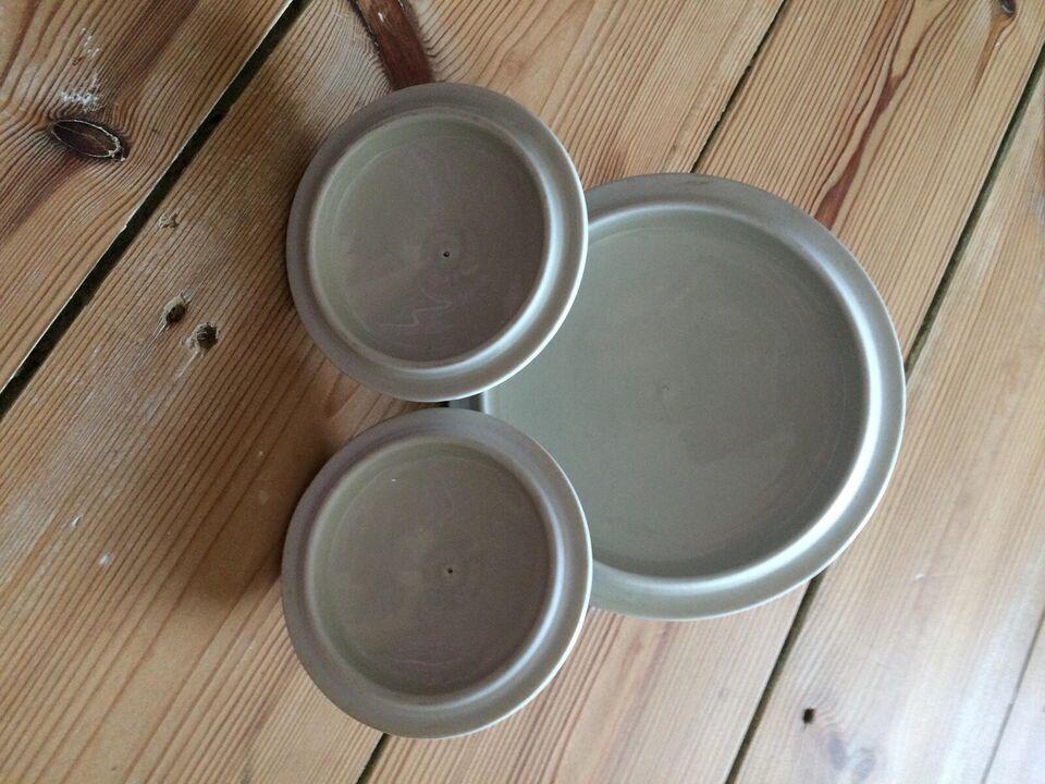 Porcelæn, låg, Blå Koka