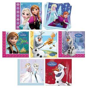 Disney Frozen Fiesta Cumpleaños Servilletas Paquete de 20