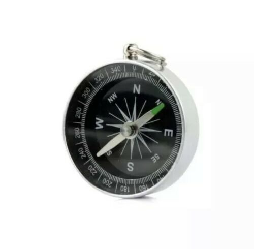 Compass Hiking Camping Navigation Keychain Navigating Navigate Walking Outdoor