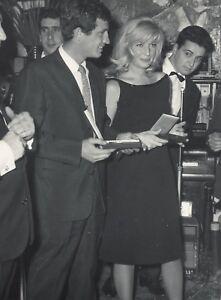 MONICA-VITTI-ET-J-P-BELMONDO-TIRAGE-ARGENTIQUE-ORIGINAL-1960