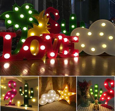 Cute LED Lights Animal Fruits Light Up Baby Kid Night light Lamp Home Decoration