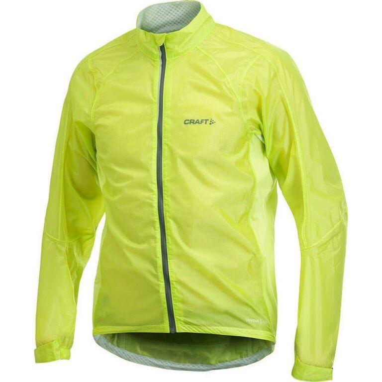 CRAFT Performance - Veste PB Rain Jacket Amino   M - giallo Fluo - Ref 1900684