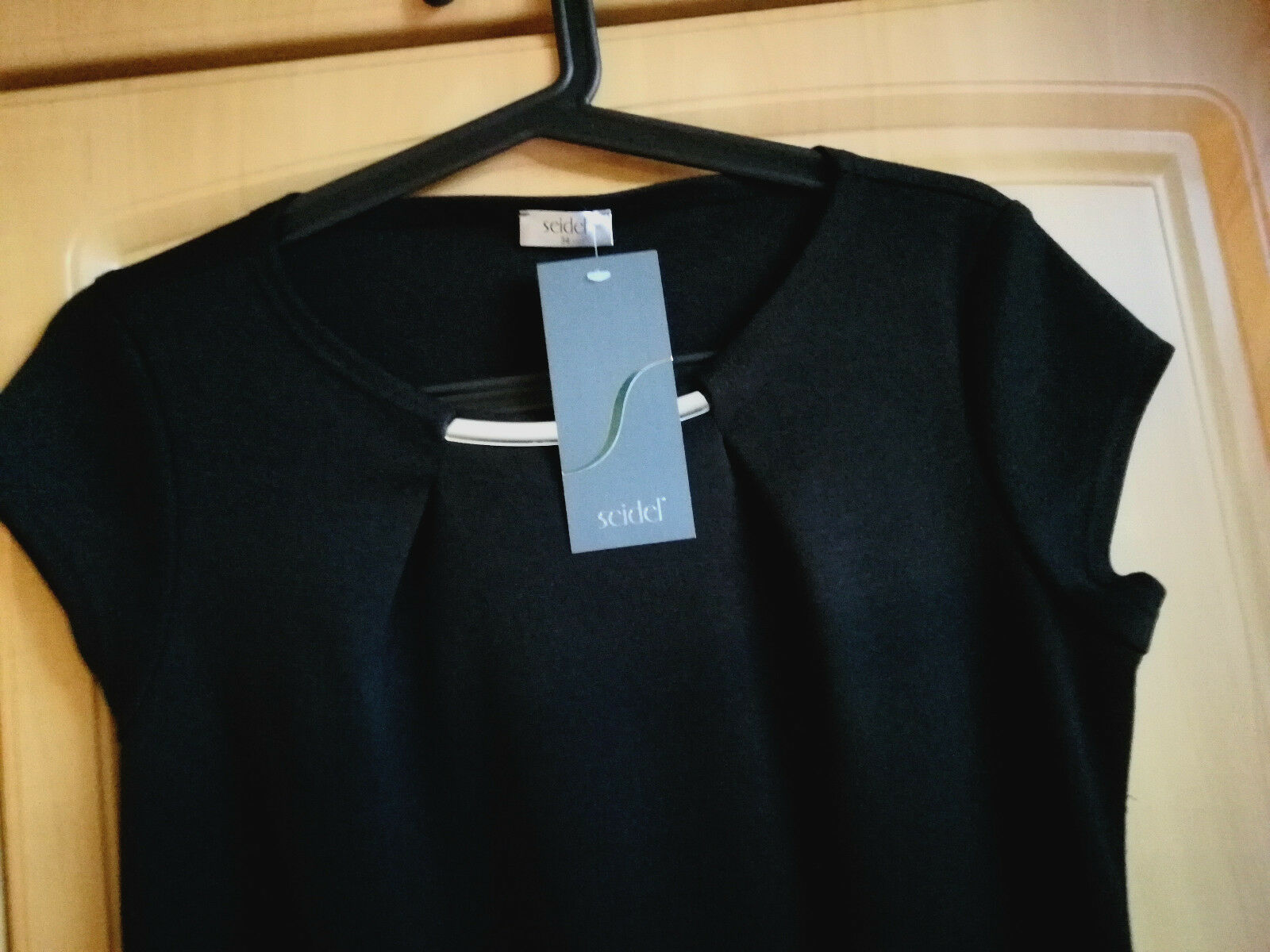 Seidel schickes Etui-Kleid Gr. 34 NEU mit Kappärmel