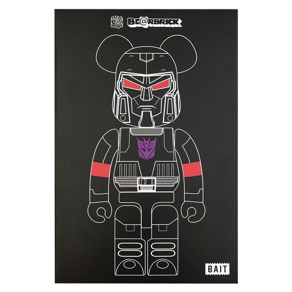 BAIT x Medicom Transformers Megatron 100% 400% Orbarbrick Set SDCC 2017