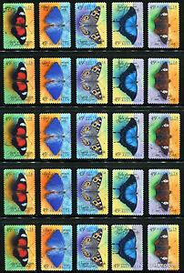 1998-Butterflies-5-Sets-CV-22-50-Fine-Used-WHOLESALE-SG1815-19-Australia-Stamps