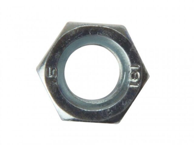 Forgefix Hexagon Nut ZP M16 Bag 10