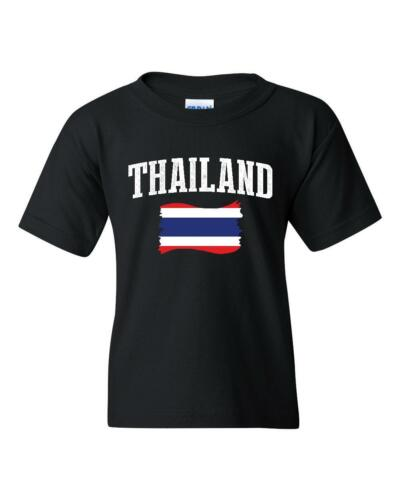 Thailand  Unisex Youth Shirts T-Shirt Tee