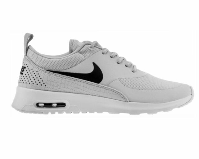 c7bd5cd494 Womens Nike Air Max Thea Running Shoes Pure Platinum/black/white All ...