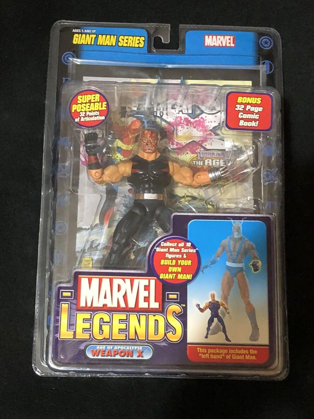 Weapon X Age of Apocalypse Marvel Legends Toybiz Giant Man Series Variant