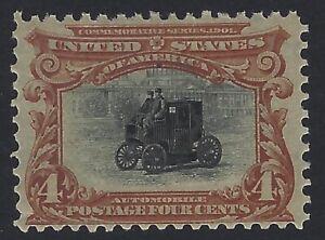 US Stamps - Scott # 296 - Mint OG Never Hinged, tiny tear l.l.          (H-1058)