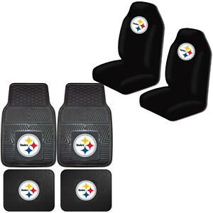 Image Is Loading NFL Pittsburgh Steelers Car Truck Front Back Rubber