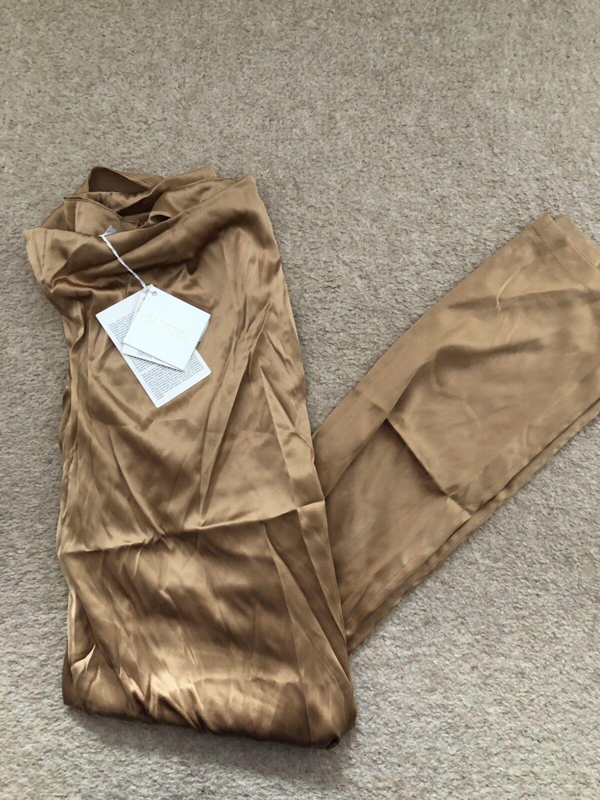damen's La Perla Trousers , Capuccino Colour, Größe 46, Brand New With Tags