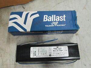 Valmont-Fluorescent-Preheat-Start-Ballast-8G1711W-120V-60-Hz-NIB
