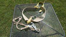 Vintage Miller Linemans Safety Belt And Rope