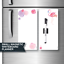 Magnetic Fridge Whiteboards. 2 magnets each 10cm x 21cm. Includes Marker & Clip.