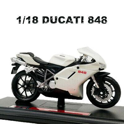 Model Scale 1:18 Maisto DUCATI 848 Motorbike