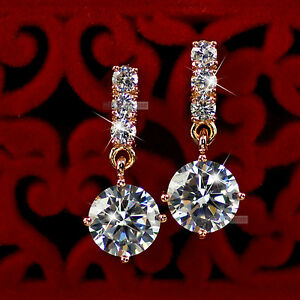 18k-rose-gold-gp-made-with-SWAROVSKI-crystal-stud-earrings-dangle