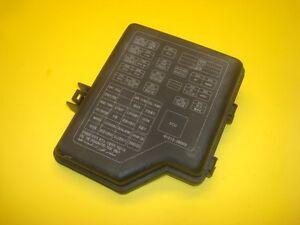 01 02 03 04 05 06 hyundai santa fe fuse box fusebox cover lid 91213