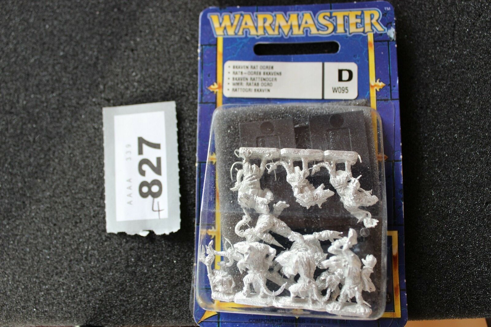 Games Workshop Warmaster Rat Ogres Skaven BNIB New Sealed Metal 10mm Miniatures