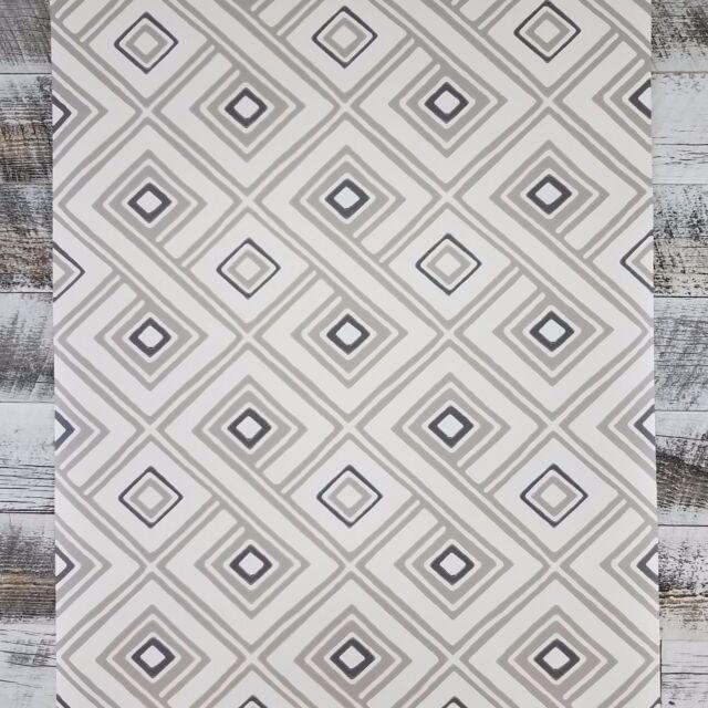 York Wall Diamond Geometric Retro Mid Century Modern Designer Wallpaper