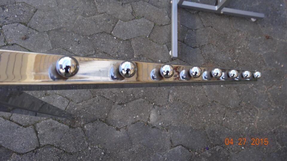 Tøjstativ vingemodel H 127-200 cm pris/stk