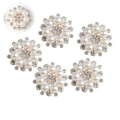 2Pcs Silver Crystal Rhinestone Dragonfly Embellishments Buttons for Crafts Decor