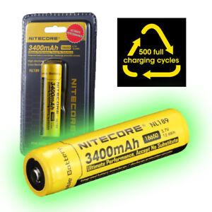 NITECORE-NL189-3400mAh-Protected-18650-Rechargeable-Li-ion-Batteries