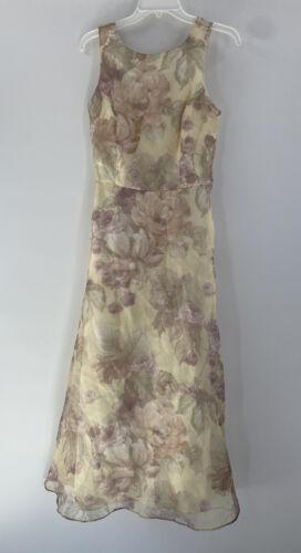 VINTAGE 90s Jessica McClintock Bridal Womens Dress