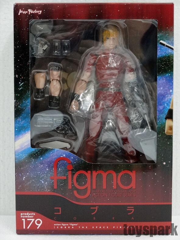 Figma Max Factory COBRA The Space Pirate Adventure action figure figurine