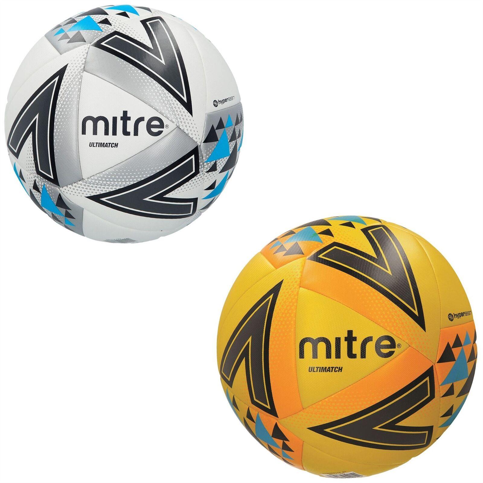 Mitre Ultimatch Hyperseam Football Soccer Ball