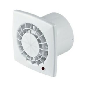 Bathroom Extractor Fan 100mm 4 White Wall Ventilator Kitchen Shower Wgb100 Ebay