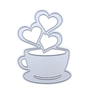 Love-Heart-Coffee-DIY-Metal-Scrapbook-Craft-Embroidery-Cutting-Die-Stencils-KT