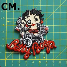 EMBROIDERED IRON ON BETTY BOOP APPLIQUE 3422-Z