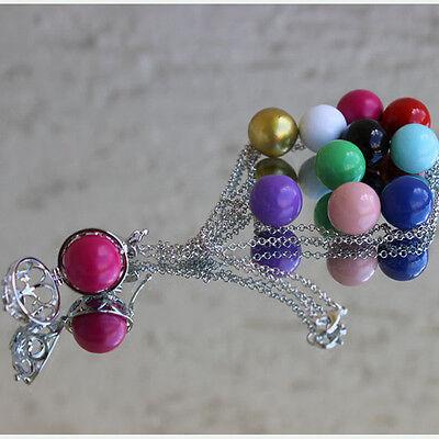 Klangkugeln für Halsketten, Anhänger, Beads, Kugeln, NEU