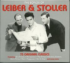 THE SONGS OF LEIBER & AND STOLLER - 3 CDS - ELVIS THE DRIFTERS, PEGGY LEE & MORE