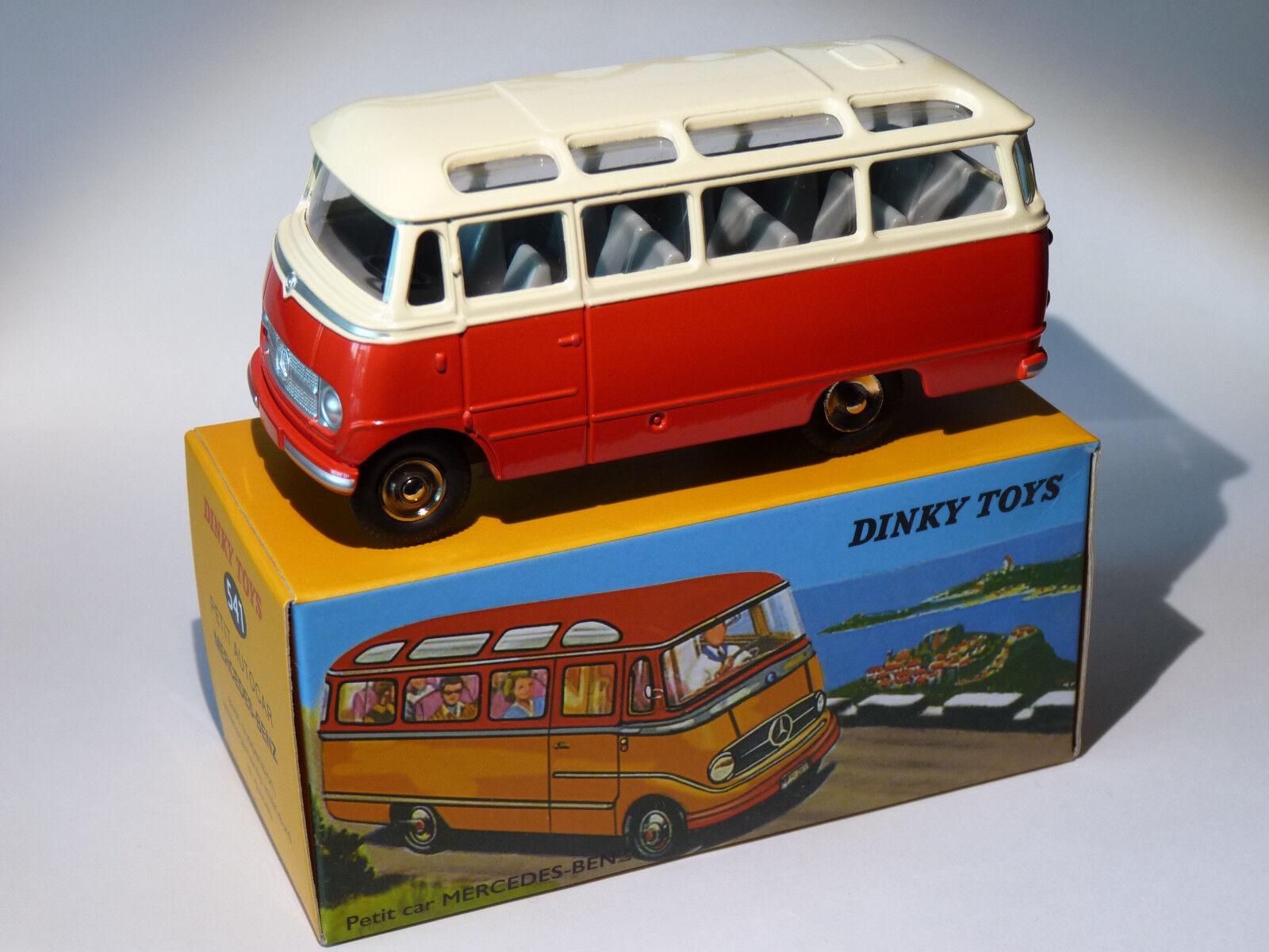 Petit bus   bus Mercedes Benz - ref 541 au 1 43 dinky toys atlas