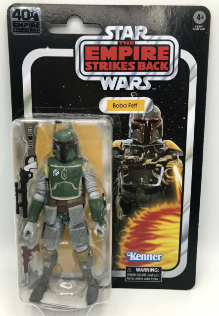 Star Wars Empire Strikes Back 40th Anniversary Boba Fett Action Figure Hasbro