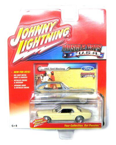 Ford Mustang 1965 Sahara-beige Johnny Lightning 1:64