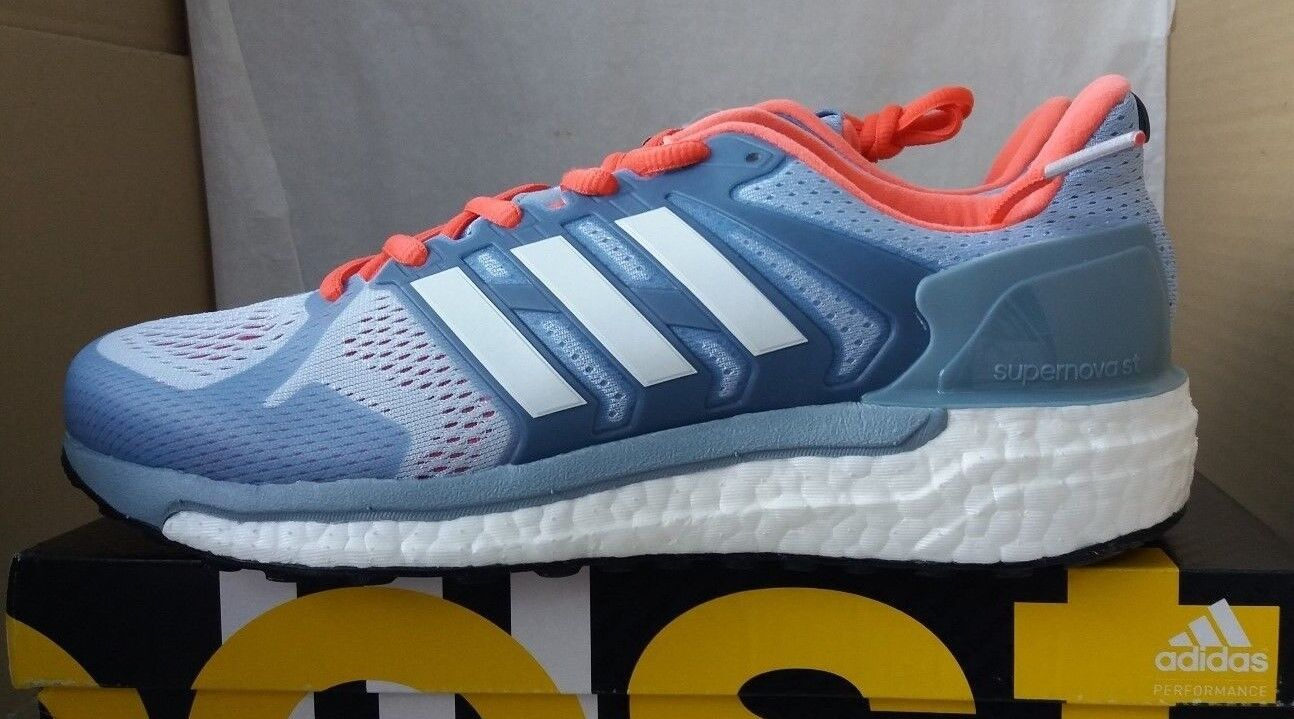 Adidas Supernova ST W Running shoes, Size Grey - RRP .95 - Free Post