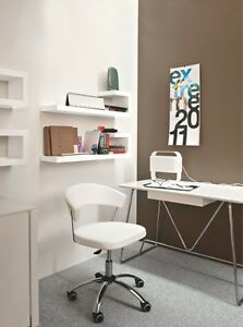 Calligaris Connubia Office Chair New York 624 Scuba in white ...