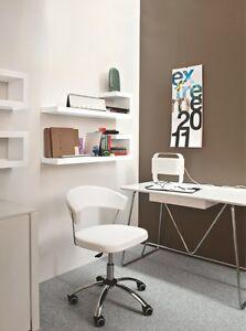 Calligaris Connubia Büro - Stuhl New York 624 Skuba in weiß | eBay