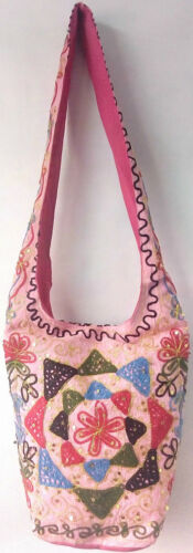 Hippy Shoulder Bag Sling Handbag Embroidery Boho Beach Hippie Gypsy UK Despatch