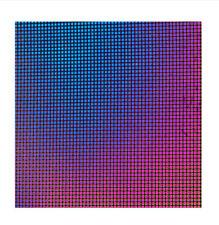 Dichroic Glass 90 COE Square 0.5 on Thin Black CBS 5x10 cm