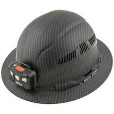 New Klein Tools 60347 Hard Hat Premium Karbn Vented Full Brim With Light